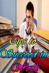 Tips to succeed in Work screenshot 1/3