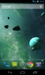 Asteroids Wallpaper screenshot 2/3