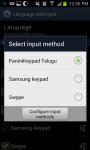 Telugu PaniniKeypad IME screenshot 4/5