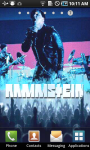 Rammstein Live Wallpaper screenshot 1/3