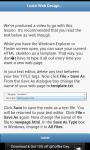 Learn Web Designing screenshot 1/3