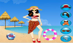 Miami Beach Dressup Free screenshot 1/3