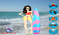Miami Beach Dressup Free screenshot 3/3