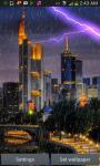 City Lightning Storm Live Wallpaper screenshot 3/3
