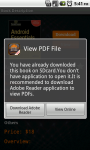Android Book Store Lite screenshot 6/6