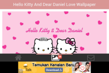 Hello Kitty and Dear Daniel Love Wallpaper screenshot 3/5