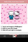 Hello Kitty and Dear Daniel Love Wallpaper screenshot 4/5