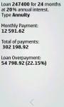 Super Auto Loan Calculator  screenshot 2/4