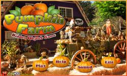 Free Hidden Object Games - Pumpkin Farm screenshot 1/4