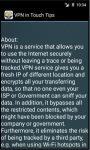 VPN in Touch Tips screenshot 4/4
