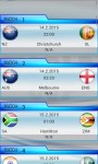 Cricket World Cup 2015 Schedule screenshot 4/6