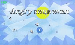 Angry snow man screenshot 1/5