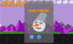 Angry snow man screenshot 5/5