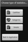 Android Personal Financial Organizer screenshot 2/5