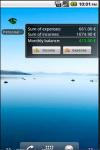 Android Personal Financial Organizer screenshot 4/5