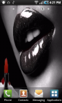 Red Lipstick Live Wallpaper screenshot 1/3
