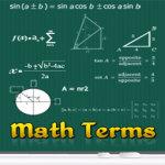 Math Terms screenshot 1/2