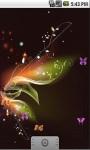 Nice Butterfly Live Wallpaper screenshot 1/5