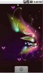 Nice Butterfly Live Wallpaper screenshot 3/5