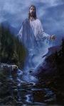 Jesus Waterfall Nature Live Wallpaper screenshot 1/2