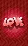 Red Love Live Wallpaper screenshot 1/3