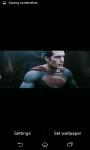 Superman Man of Steel Fighting Live Wallpaper screenshot 4/6