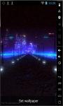 Highway In Night Live Wallpaper screenshot 1/2