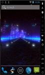 Highway In Night Live Wallpaper screenshot 2/2