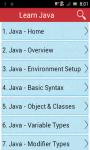 Learn Java v2 screenshot 1/3