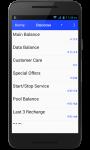 Balance info screenshot 1/5