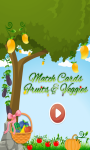Match Cards Fruits And Veggies screenshot 1/6