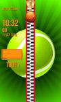Sport Zipper Lock Screen screenshot 6/6