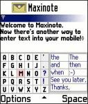 Maxinote V1.01 screenshot 1/1
