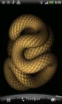 Snake 3D Live Wallpaper screenshot 1/2
