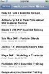 BW RSS screenshot 1/1