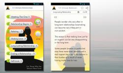 121 Intimate Relationships App screenshot 1/6