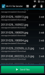 Wi-Fi File Sender screenshot 2/4