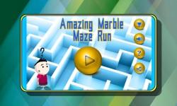 Amazing Marble Maze Run screenshot 1/5
