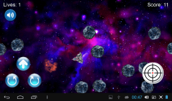 Spaceship Asteroids screenshot 2/3