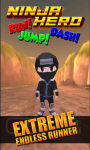 Ninja Hero Run Jump Dash 3D screenshot 1/5