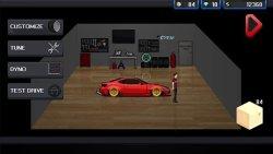 Pixel Car Racer Freemium screenshot 1/2
