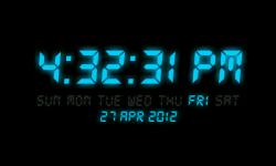 Digital Clock 2 screenshot 3/3