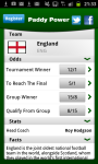 Euro 2012 Guide by Paddy Power screenshot 2/6