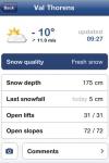 Skiinfo Snow Report screenshot 1/1
