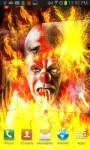 Crazy Clown on Fire LWP free screenshot 1/4