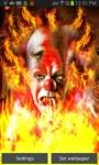 Crazy Clown on Fire LWP free screenshot 2/4