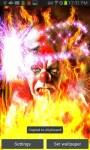 Crazy Clown on Fire LWP free screenshot 3/4