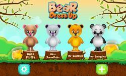 Bear Dress up iOS screenshot 3/4