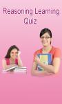 Reasoning Learning Quiz screenshot 1/1