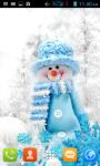 Snowman Live Wallpaper Best screenshot 2/4